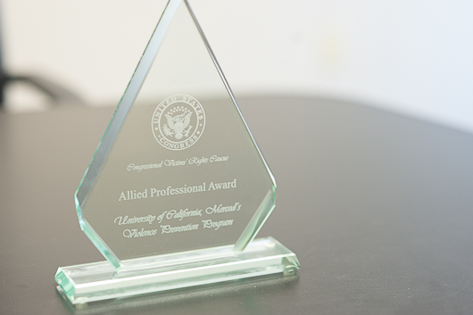 Allied Professional Award from the Congressional Victims' Rights Caucus