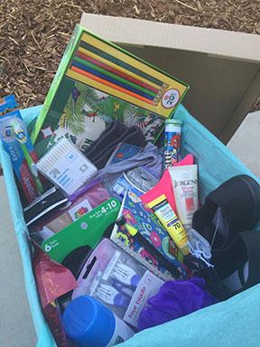 DVAM Donation Drive box