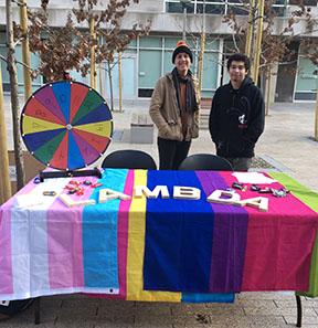 Lambda tabling at SAAM fair