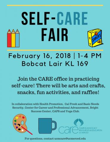 self-CARE fair event | CARE Office